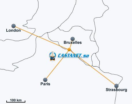 Plan situation castanet